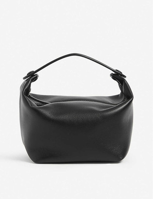 The Row Les Bains leather tote bag