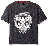 Akademiks Men's Hoorah Slub T-Shirt (Various Colors and Sizes Including Big and Tall)