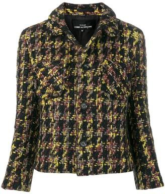 Comme Des Garçons Pre Owned Boucle cropped jacket
