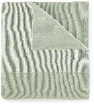 Peacock Alley Seaside Blanket Throw - Celadon