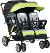 Foundations The Quad Sport 4-Passenger Sport Stroller - Lime