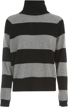 Twin-Set TwinSet Striped Sweater L/s Turtle Neck
