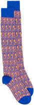 Gucci Mushrooms jacquard socks - men - Cotton - M
