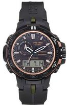 Casio PRO TREK Triple Sensor Digital Atomic Solar Watch - PRW-S6000Y-1CR