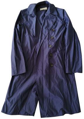 Ramosport Navy Polyester Trench coats