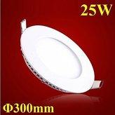 Brother quan 25w Round Ultrathin LED Panel Light 300mm SMD 2835 Mini Led Ceiling Lamp AC85-265V