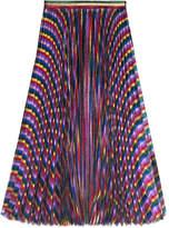 Gucci Iridescent pleated skirt