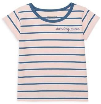 Maison Labiche Little Girl's & Girl's Dancing Queen Striped Tee