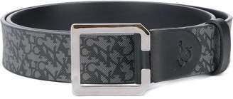 Canali logo print belt