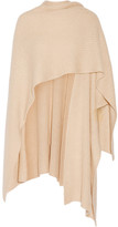 Madeleine Thompson Ribbed Cashmere Wrap - Beige