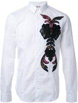 Antonio Marras embroidered detail shirt