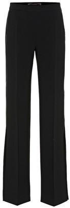 Max Mara Vicario crepe high-rise pants