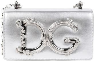 Dolce & Gabbana Silver Girls Phone Bag
