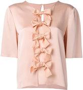 Fendi bow blouse - women - Silk/Acetate/Viscose - 40