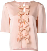 Fendi bow blouse - women - Silk/Acetate/Viscose - 42