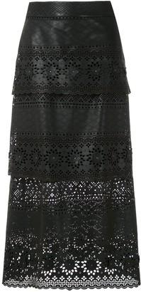 Nk Remi laser cut skirt