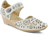 Spring Step Nougat Wedge Sandals