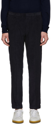Paul Smith Navy Corduroy Kensington Trousers