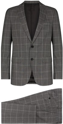 HUGO BOSS Checked Two Piece Suit