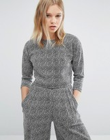 NATIVE YOUTH Boxy Minimal Top Co-Ord