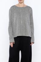 Chalet Grey Stripe Top