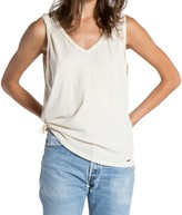 n:PHILANTHROPY - Francis Rolled Muscle Tank - White Magic