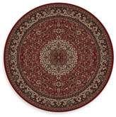 Bed Bath & Beyond Concord Global Isfahan Red 7-Foot 10-Inch Round Rug