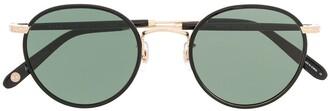Garrett Leight Wilson round frame sunglasses