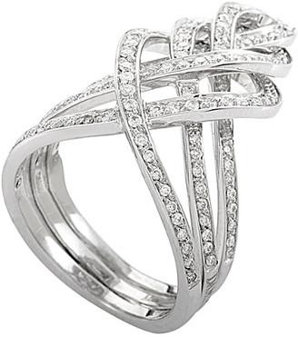 Damiani 18K 0.67 Ct. Tw. Diamond Ring