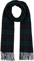 Barneys New York MEN'S PLAID WOOL SCARF