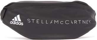 adidas by Stella McCartney Logo Print Technical Shell Belt Bag - Womens - Black