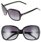 Marc Jacobs Women's 59Mm Oversized Sunglasses - Black