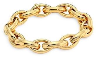 Alberto Milani Via Senato 18K Gold Interlock Bracelet