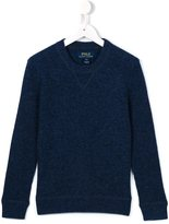 Ralph Lauren crew neck jumper - kids - Cashmere/Wool - 8 yrs