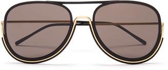 Wires Glasses Maccready - Gold/Black/Grey