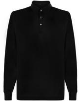 SILK WAY Long-sleeved polo shirt