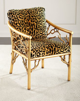 John-Richard Collection Leopard Branch Chair