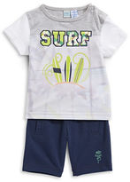 Bob Der Bar Two-Piece Surf T-Shirt and Shorts Set