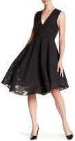 Tibi Istel Fil Coupe V-Neck Dress