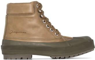 Jacquemus Les Meuniers Hautes leather ankle boots
