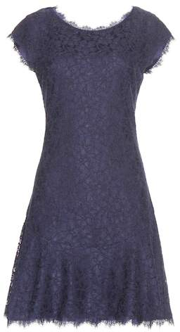 Diane von Furstenberg Brittany lace dress