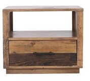 Union Rustic Colbey Solid Wood Block End Table