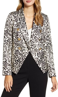 Rachel Parcell Leopard Blazer