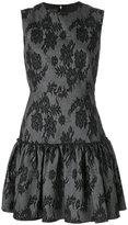 Giambattista Valli jacquard lace mini dress