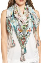 Johnny Was Women's Frica Square Silk Scarf