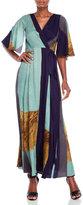 Tracy Reese Printed Kimono-Style Wrap Dress
