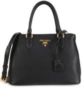 Prada Vitello Phenix Leather Shoulder Bag