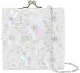 Monsoon Sequin Flower Lace Square Bag