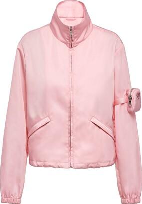 Prada Re-Nylon pocket-detail jacket