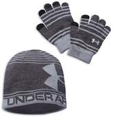 Under Armour Boys' Beanie & Gloves Set